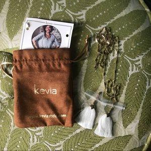 Anthropologie Kevia Tassel Necklace